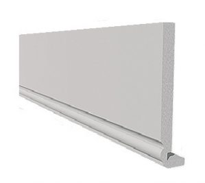 White Ogee Edge Full Replacement Fascia Boards 18mm Thickness