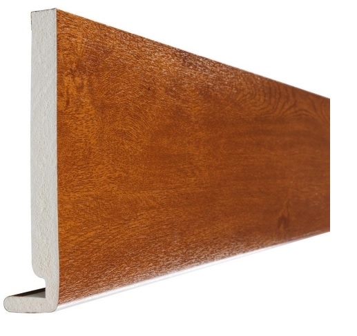 Golden Oak Full Replacement Fascia Board