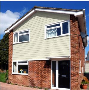 Pale Gold Fortex Cladding