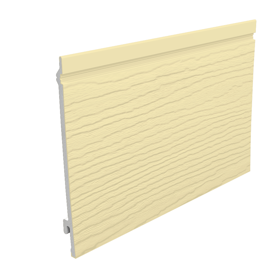 Exterior: Sand Fortex 170mm Weatherboard External Embossed Cladding