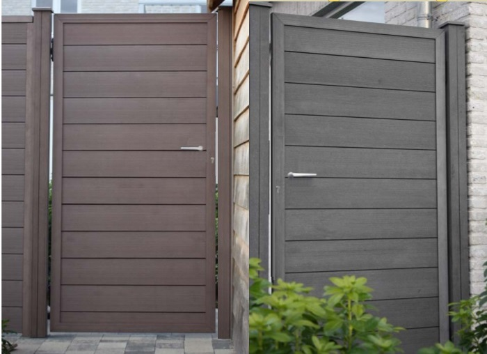 Charmant Composite Garden Side Gates Designs