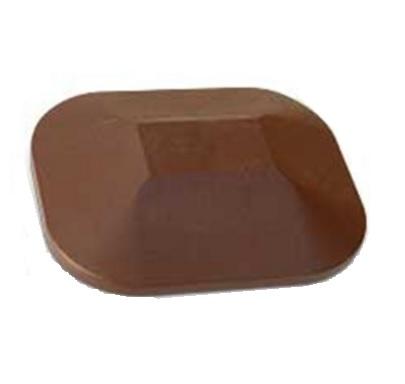 brown top cap