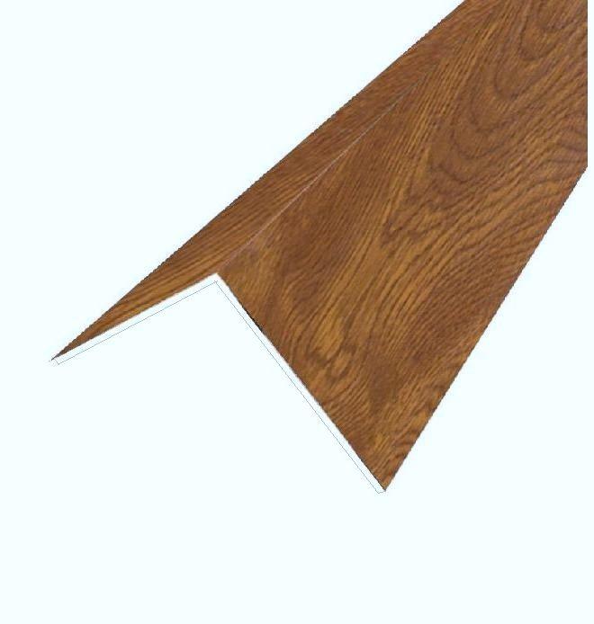 50 x 50 rigid angle golden oak