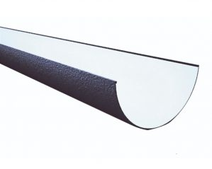 Black 1/2 Round Guttering & Downpipes