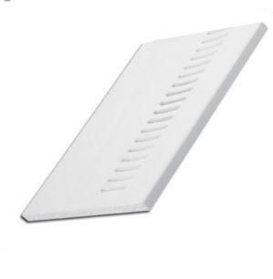 White Vented Flat Soffit Board