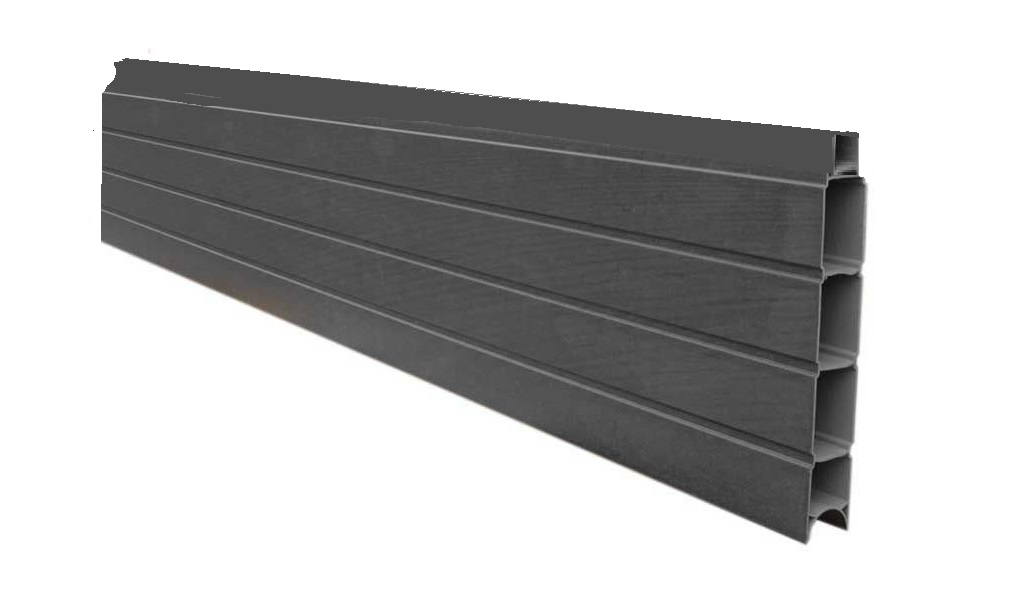 The Unique Pvc Fencing System That Slots Into Existing Posts Carbon Greytradeline Upvc Limited