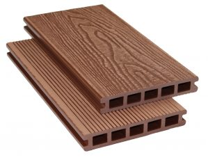 Copper Brown Composite Decking