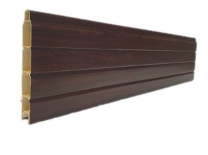 Rosewood Grained Pvc Composite Fencing