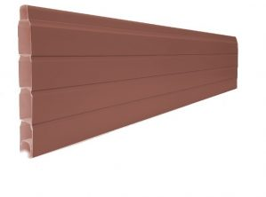Chesnut Brown Pvc Composite Fencing